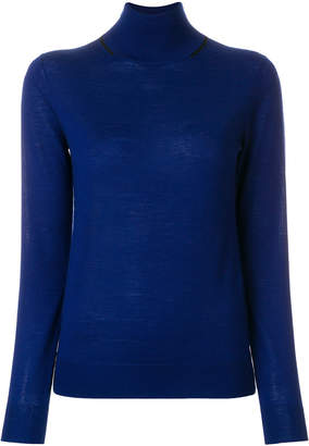 Joseph fitted turtle-neck sweater