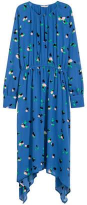 H&M Asymmetric Dress - Blue