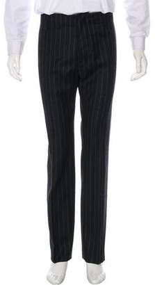 CNC Costume National Striped Wool Dress Pants