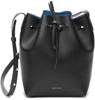 Mansur Gavriel Black Mini Bucket Bag