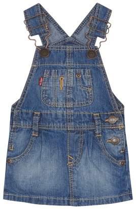 Levi's LEVIS 'Baby Girls' Blue Denim Pinafore Dress