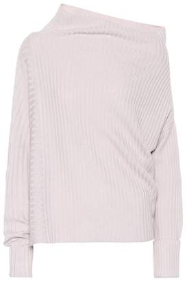 Agnona Rib-knit cashmere sweater