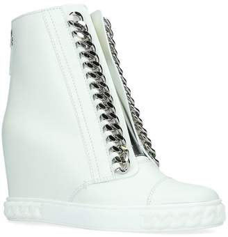 White Wedge Heel Boots For Women - ShopStyle UK 9bdf0d9de1