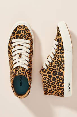 SeaVees Leopard High-Top Sneakers