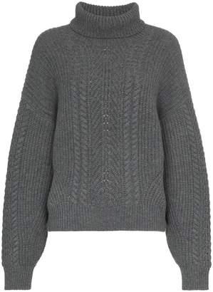 Le Kasha Pontavin cable knit cashmere jumper
