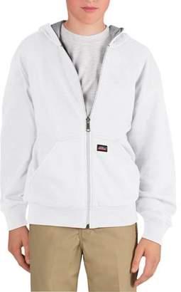 Dickies Genuine Boys' Zip Front Thermal Lined Fleece Hoodie