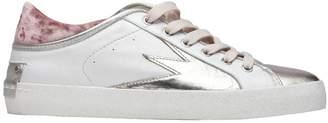 Crime London White/silver Faith Lo Sneakers