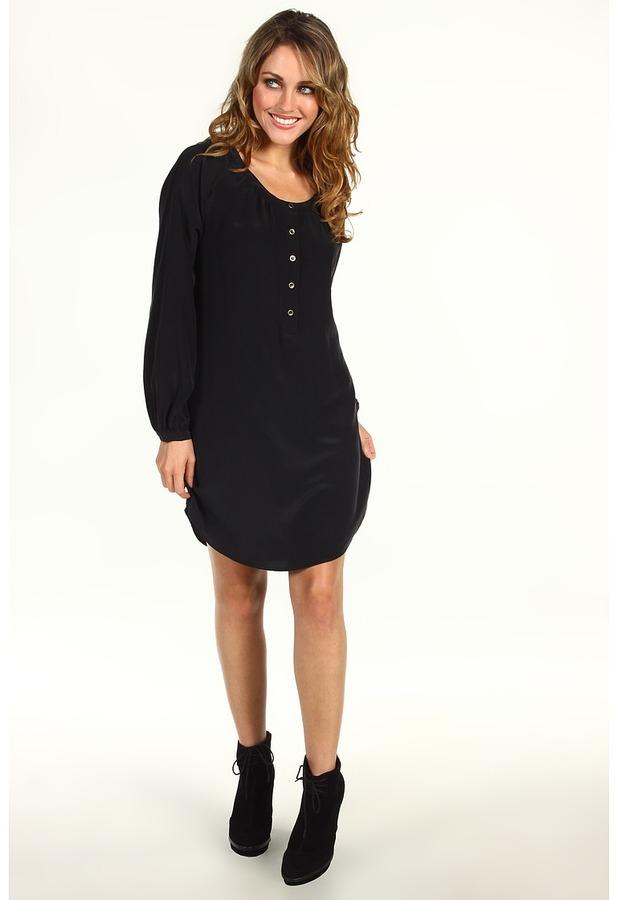 Twelfth St. By Cynthia Vincent by Cynthia Vincent - Raglan Dress (Black) - Apparel