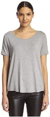 James & Erin Women's High Low Tee