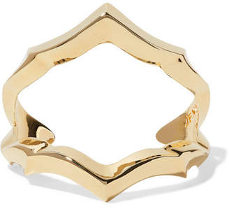 Jennifer Fisher Crystal Gold-plated Cuff