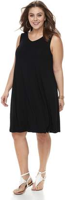 Apt. 9 Plus Size Strappy V-Back Dress