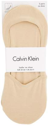 Calvin Klein Invisible Loafer Socks (Pack of 2)