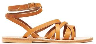 K. Jacques Aphrodite Leather Sandals - Womens - Tan
