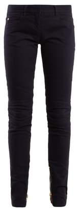Balmain Mid Rise Skinny Jeans - Womens - Navy