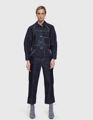 3.1 Phillip Lim Workwear Denim Cargo Pant