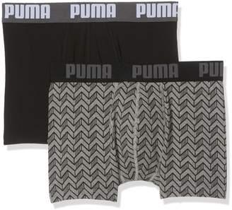Puma 2-Pack Graphic Print Men's Boxer Briefs