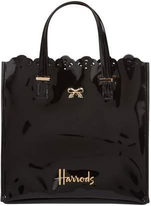 Harrods Small Vintage Lace Shopper Bag