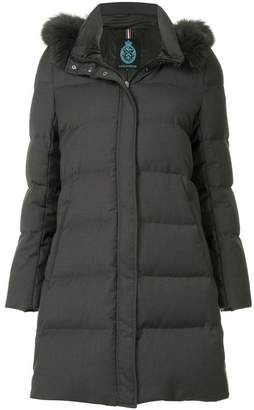 GUILD PRIME hooded padded coat