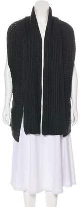 Theory Knit Sleeveless Cardigan