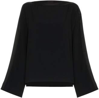 Haider Ackermann oversized crew neck top