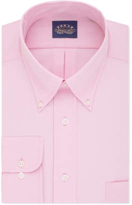 Eagle Men's Big & Tall Classic-Fit Stretch Collar Non-Iron Solid Dress Shirt
