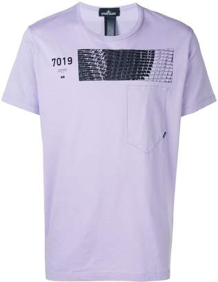 Stone Island Shadow Project 7019 print T-shirt