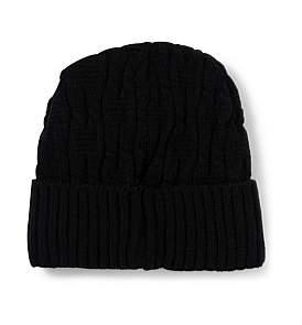 68d58639a7c Mens Cable Knit Beanie - ShopStyle Australia