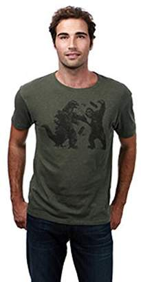 Lucky Brand Men's King Kong VS Godzilla Graphic TEE