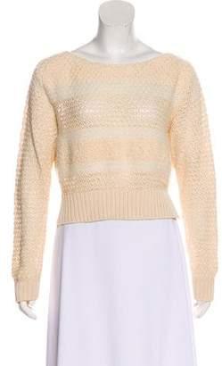 Rachel Comey Knit Long Sleeve Crop Top