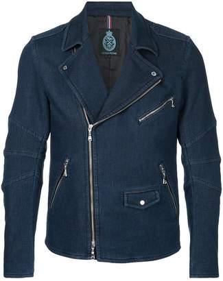 GUILD PRIME denim biker jacket