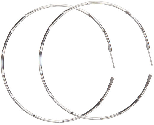S/M Hammered Hoops