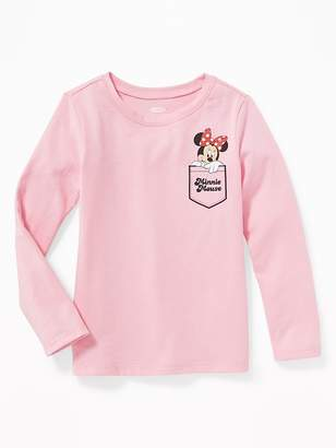 Old Navy Disney© Minnie Mouse Pocket Graphic Tee for Toddler Girls