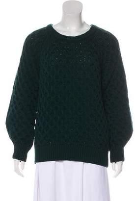 Isabel Marant Crew Neck Heavy Knit Sweater