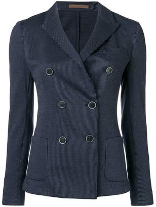 Eleventy double-breasted fitted blazer