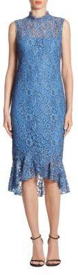 Shoshanna Sleeveless Lace Dress $418 thestylecure.com