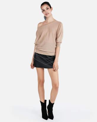 Express Shimmering Drapey Dolman Sweater