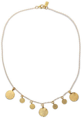 Electric Picks Gladiator Coin Necklace