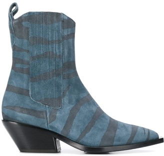 A.F.Vandevorst animal-print boots