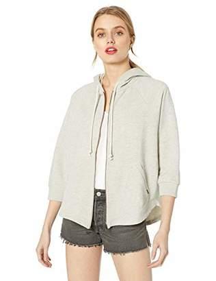 Lucky Brand Women's Hooded Poncho Sweatshirt