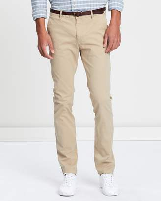 Slim Fit Garment Dyed Chinos