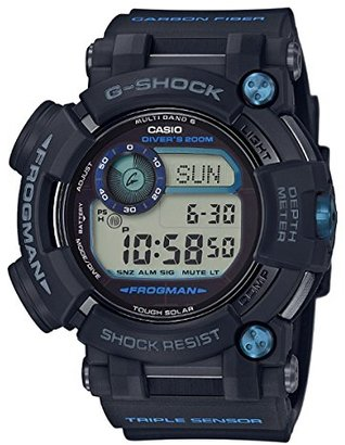 メンズ カシオ Casio G -Shock Master of G Frogman 腕時計 GWFD1000B-1