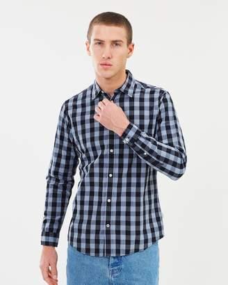Jack and Jones Long Sleeve Gingham Shirt
