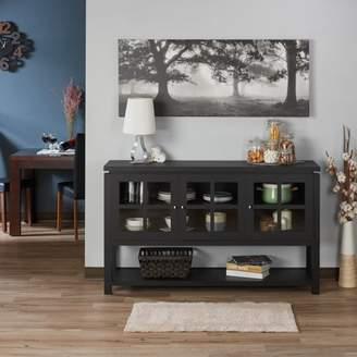 Furniture of America Chico Contemporary Buffet, Black