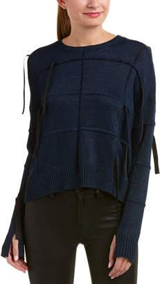 Helmut Lang Ribbon Inlay Sweater