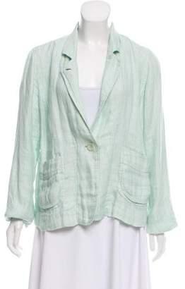 Eileen Fisher Linen Button-Up Jacket