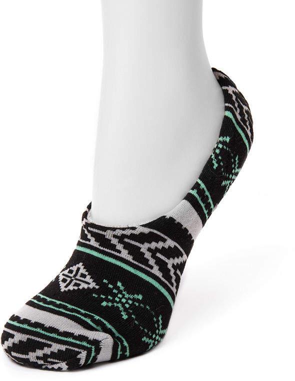 MUK LUKS Muk Luks 1 Pair Slipper Socks - Womens