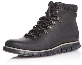 Cole Haan Leather Lace-Up Hiking Boots