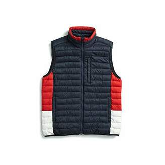 Tommy Hilfiger Adaptive Men's Quilted Vest with Magnetic Zipper