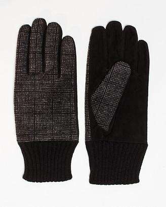 Le Château Suede & Wool Blend Glove