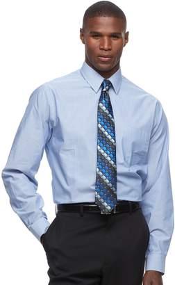 Arrow Men's Classic-Fit Fineline-Striped Wrinkle-Free Dress Shirt